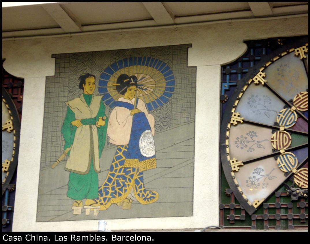 Casa China. Las Ramblas. Barcelona.