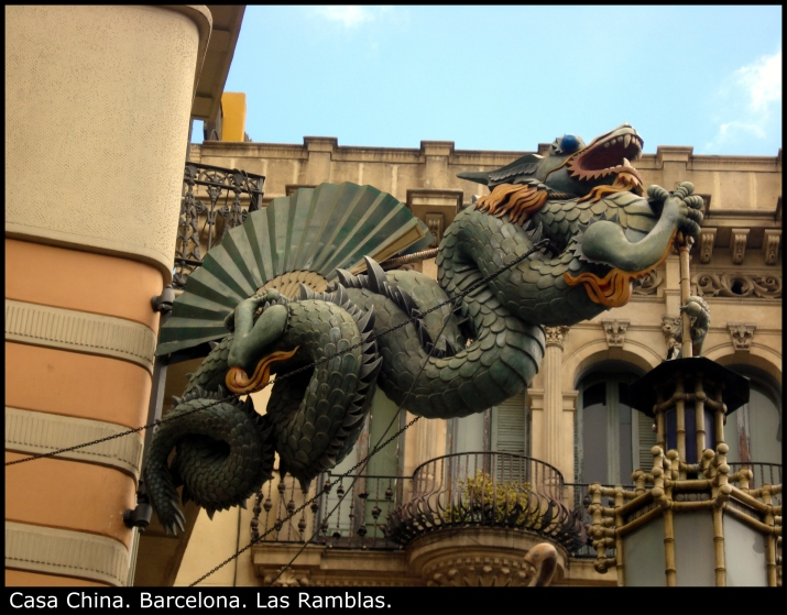 Casa China. Barcelona. Las Ramblas.
