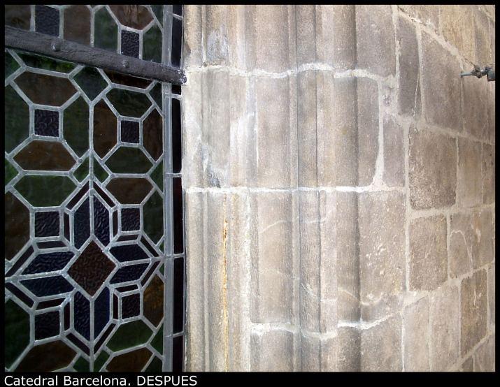 Catedral Barcelona. DESPUES