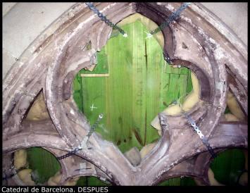 Catedral de Barcelona. DESPUES
